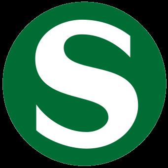 Symbol der S-Bahn
